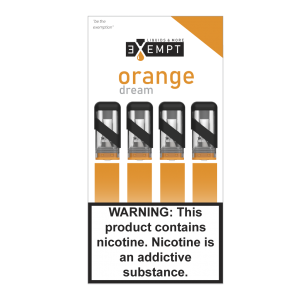 Remit Orange Dream Nic Salt Pod Packs (Pack of 4)