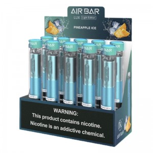 Suorin Air Bar Lux Disposable 1000 Puffs (10-Pack)