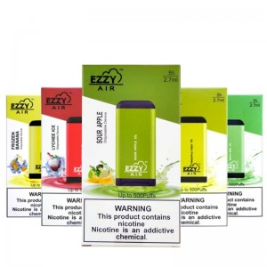 Ezzy Air Disposable 500 Puffs (10-Pack)
