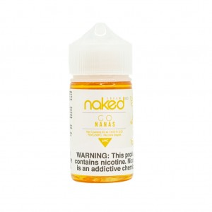 Naked 100 Cream Go Nanas (60ml)