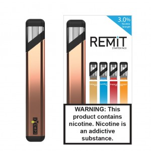 Remit Starter Kit with Variety Flavor Pack - Rose Gold