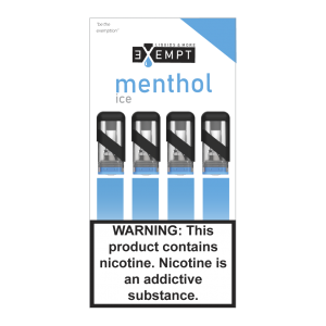Remit Menthol Ice Pod Packs (Pack of 4)