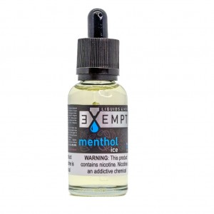 EXEMPT Nic Salt Menthol Ice (30ml)