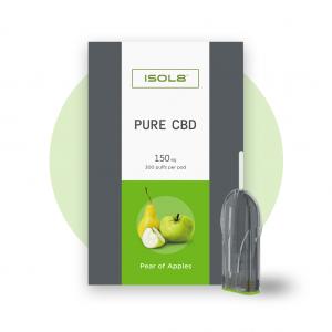 ISOL8 Pear of Apples - CBD Pod