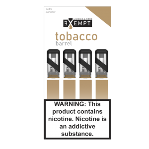 Remit Tobacco Barrel Pod Packs (Pack of 4)